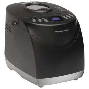 Hamilton Beach Programmable Bread Machine, 2-Pound Bread Maker with Gluten-Free Setting 29882 Product Image