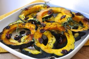 Baked Acorn Squash Rings and Halves: Two Easy and Delicious Vegetarian Side Dishes