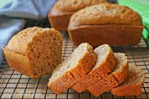 Experiment with your bread's taste by adding spices