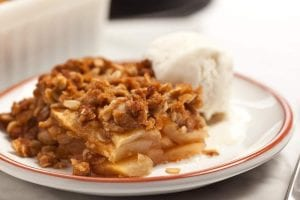 Quick & Easy Traditional Baking: Homemade Apple Crumble or Crisp