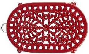 Old Dutch Red Oblong Trivet Product Image
