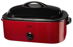 Oster CKSTROSMK18 Smoker Roaster Oven, 16-Quart Product Image