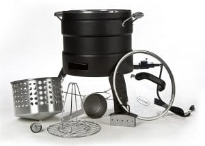 Masterbuilt 20100809 Butterball Oil-Free Electric Turkey Fryer and Roaster Complete Product