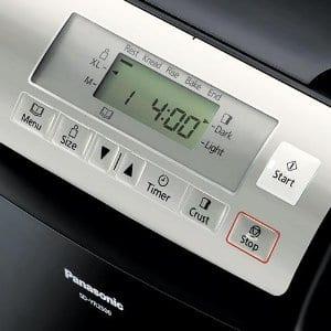 Panasonic SD-YR2500 Interface