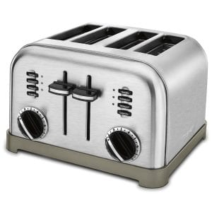 Cuisinart CPT-180 Metal Classic 4-Slice Toaster Product Image