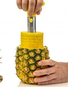 Kenko Cuisine Pineapple Corer, 3-in-1 Stainless Steel Slicer and Peeler Product Image