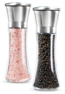 Levav Premium Stainless Steel Salt and Pepper Grinder Set Product Image