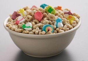 Lucky Charms St. Patricks Day Party Snack Idea
