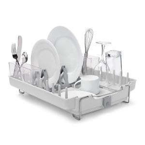 OXO Good Grips Convertible Foldaway Dish Rack Product Image