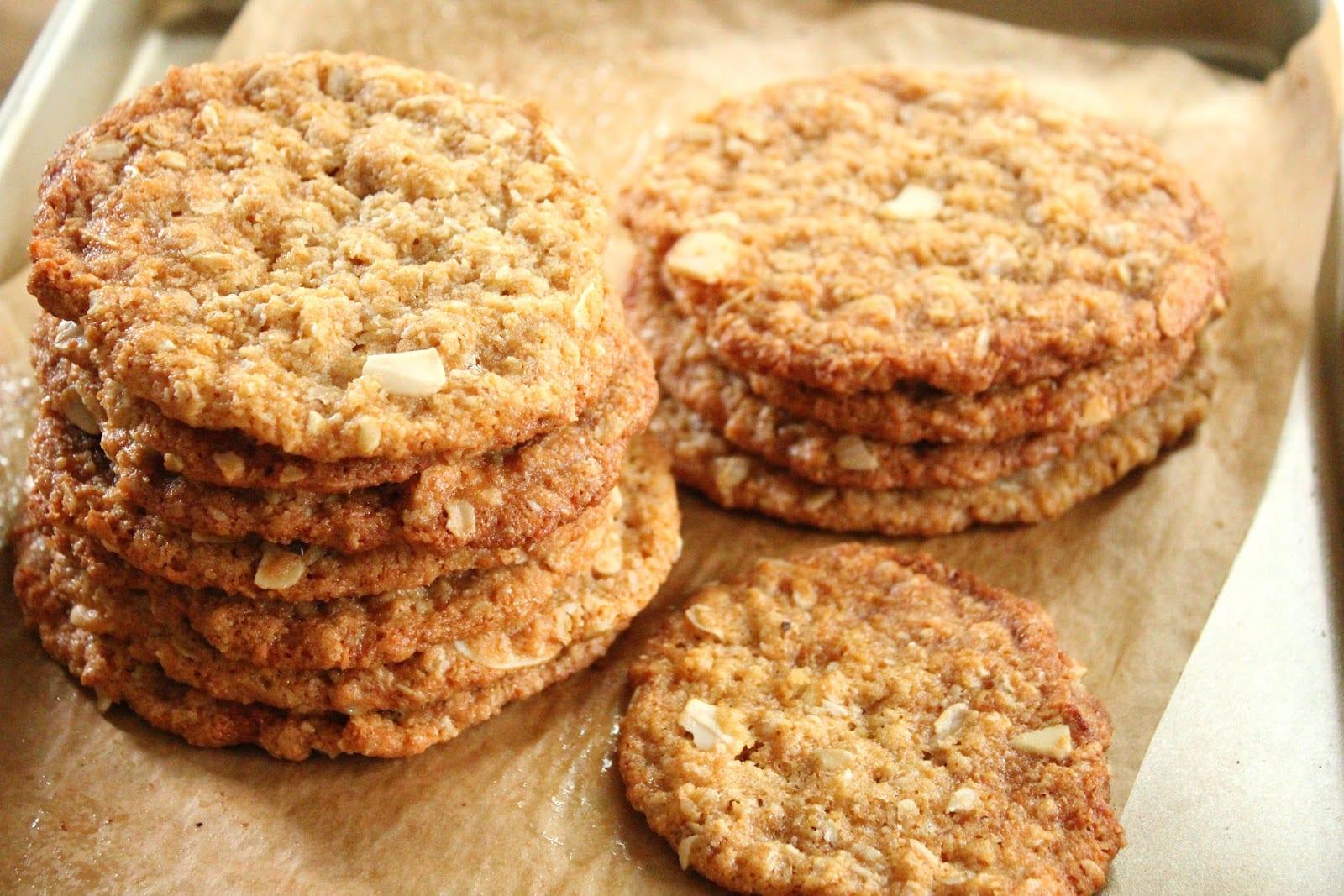 Orange Coconut Oatmeal Cookies