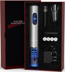 Uncle Viner Electric Wine Opener with Charger Product Image