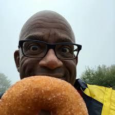 Al Roker's Grilled Glazed Donuts
