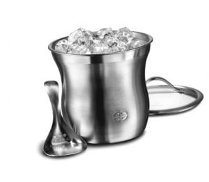 Caphalon Barware Stainless Steel Ice Bucket Set Product Image