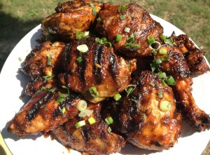Grilled Jerk Chicken and Jamaican Style BBQ Sauce - Great for Memorial Day