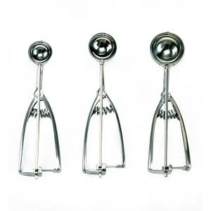 Norpro Stainless Steel Cookie Scoop Set of 3 Product Image