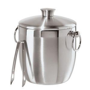 Oggi Stainless Steel Ice Bucket with Tongs Product Image