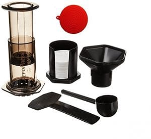 Aeropress Coffee and Espresso Maker with Accessory, Value Pack Product Image