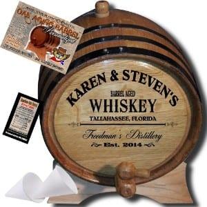 American Oak Barrel Personalized American Oak Aging Barrel Product Image