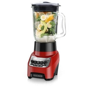 BLACK+DECKER Countertop Blender with 6-Cup Glass Jar, 10-Speed Settings product image