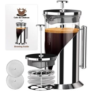 Cafe Du Chateau French Press Coffee Maker product image