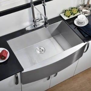 Comllen 304 Stainless Steel Farmhouse Kitchen Sink product image