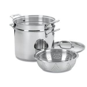 Cuisinart 77 412 Chef's Classic Stainless 4 Piece 12 Quart Pasta Steamer Set Product Image