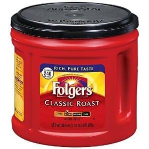 Folgers Classic Roast Ground Coffee, Medium Roast product image
