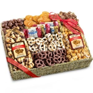 Golden State Fruit Chocolate, Caramel and Crunch Grand Gift Basket product image