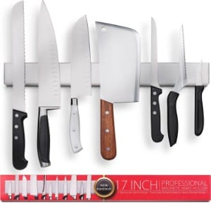 5 Best Magnetic Knife Strips for your Kitchen