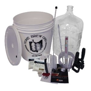 Home Brew Ohio RL-WKZ2-0IJS Gold Complete Beer Equipment Kit product image