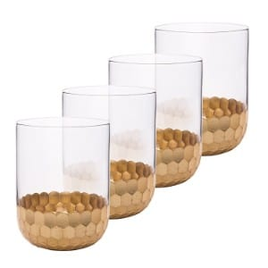 La Jolie Muse Drinking Glasses Tumblers Cups 4 Pack product image
