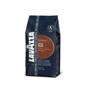 Lavazza Super Crema Whole Bean Coffee Blend, Medium Espresso Roast product image