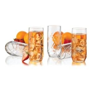Libbey Diamond Swirl 12-Piece Glassware Set product image