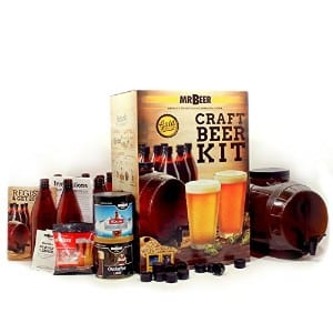 Mr. Beer Premium Gold Edition 2 Gallon Homebrewing Craft Beer Making Kit product image