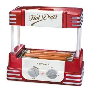 Nostalgia RHD800 Hot Dog Roller and Bun Warmer Product Image
