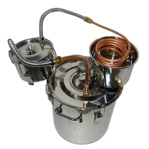 Olizee 8 Gal Stainless Steel Water Alcohol Distiller Product Image