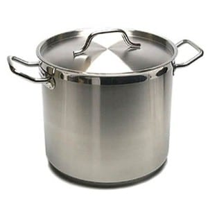 Onesource New Professional Commercial Grade 40 Qt Heavy Gauge Stainless Steel Stock Pot Product Image