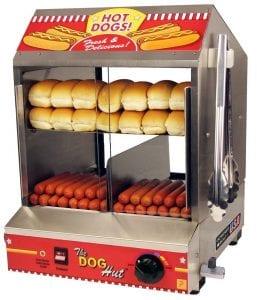 Paragon 8020 Hot Dog Hut Steamer Merchandiser Product Image