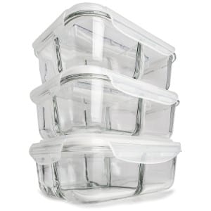 Prep Naturals Glass Meal Prep Containers product image