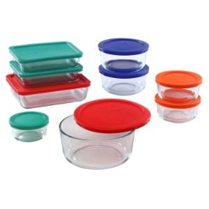 Pyrex 18 Piece Simply Store Food Storage Set product image