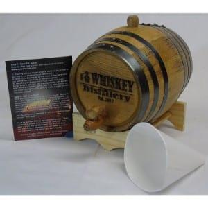 Red Head Barrels Engraved 2 Liter Charred American White Oak Aging Barrel Product Image