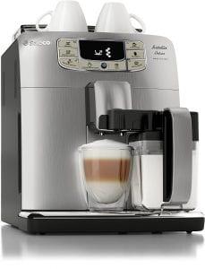 Saeco Intelia Cappuccino Deluxe Automatic Espresso Machine Product Image