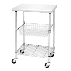 Seville Classics Stainless Steel Professional Kitchen Cart product image