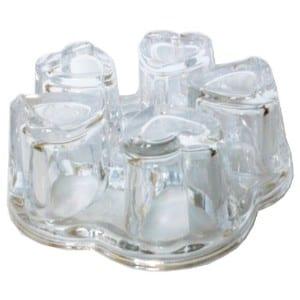 Sun's Tea Solid Crystal Glass Teapot Warmer Product Image