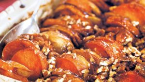 Sweet Potato Recipe with Baked Apples