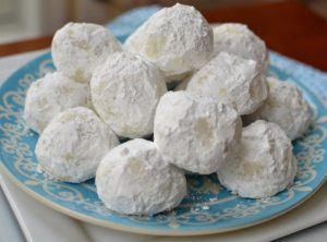 Toddler Friendly No Bake Snowball Cookie Recipe