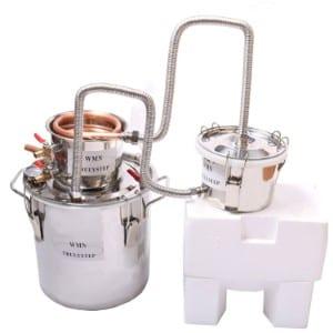 Wmn Trulystep 3 Pots Diy 5 Gal 20 Litres Copper Alcohol Distiller Produt Image