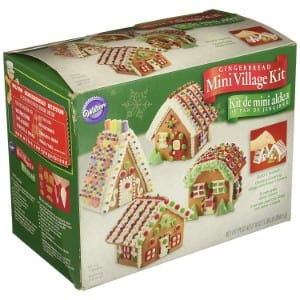 Wilton Build It Yourself Mini Village Gingerbread House Decorating Kit product image