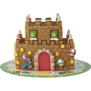 Wilton Super Mario Brothers Gingerbread Castle Decorating Kit product image