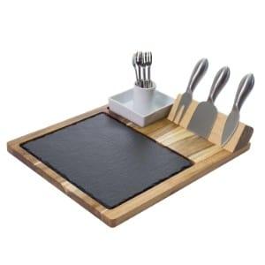 Zelancio Slate Cheese Board Set product image